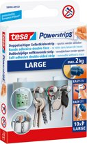 Tesa - 58000 - powerstrips - Zelfklevende strip -