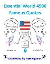 Essential World 4500 Famous Quotes