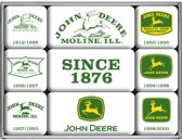 Nostalgic Art - John Deere - Set van 9 Magneten