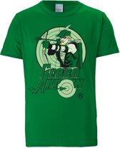 Logoshirt T-Shirt Green Arrow