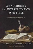 Authority and Interpretation of the Bible