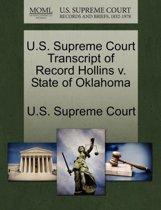 U.S. Supreme Court Transcript of Record Hollins V. State of Oklahoma