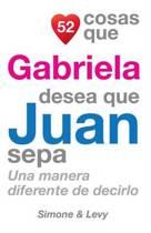 52 Cosas Que Gabriela Desea Que Juan Sepa