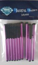 Ikoop & proclaims © 10 Stylus Pen voor Tablet en Smartphone - KLEUR: DONKER PAARS