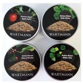 Wartmann Rookmot Set 4x250ml Eik-Kers-Els-Appel