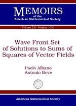 Wave Front Set of Solutions to Sums of Squares of Vector Fields