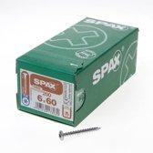 Spax-s Spaanplaatschroef tellerkop discuskop T30 6 x 60mm