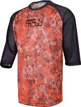IXS Vibe 8.1 Fietsshirt korte mouwen Heren rood/zwart Maat M