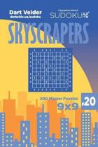 Sudoku Skyscrapers - 200 Master Puzzles 9x9 (Volume 20)