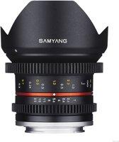 Samyang 12mm T2.2 Cine Ncs Cs - Prime lens - geschikt voor Micro 4/3