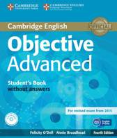 Objective Advanced - fourth edition for revised exam 2015 student's book without answers + cd-rom