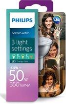 Philips LED SceneSwitch GU10 - LED-lamp - 4.5W-2.8W-1.3W/827 36D