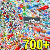 700+ Stickers voor Kinderen | 40 Stickervellen Jongens 3D Foam Superhelden | KMST005