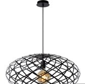 Lucide WOLFRAM - Hanglamp - Zwart