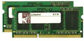 Kingston Technology ValueRAM 8GB DDR3 1333MHZ SODIMM 8GB DDR3 1333MHz geheugenmodule (2x 4GB)