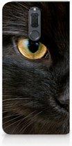 Uniek Hoesje Zwarte Kat Huawei Mate 10 Lite