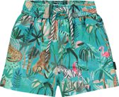 Noppies Jongens Zwemshort met all over print Scott - Bluebird - Maat 50-56