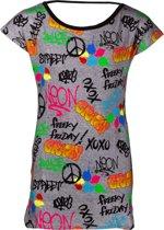 Papillon sportshirt XoXo meisjes grijs maat 128