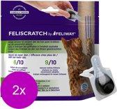 Feliway Feliscratch - Anti stressmiddel - 2 x 9x5 ml 9 pip