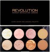 Makup Revolution Ultra Blush Palette - Golden Sugar
