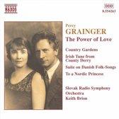 Grainger: The Power of Love / Keith Brion, Slovak Radio SO