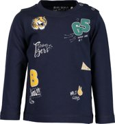 Blue Seven Jongens T-Shirt - Donker Blauw - Maat 68