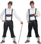 Boeren Tirol & Oktoberfest Kostuum   Tiroler Neurenberg Man   Maat 60-62   Bierfeest   Verkleedkleding