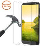 2 Pack - Motorola Moto G6 + / Moto G6 Plus Beschermglas Screen Protector / Tempered Glass Screen