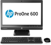 HP ProOne 600 G1 3.6GHz Intel Core i3-4160 met Intel HD Graphics 4400 (3,6 GHz, 3 MB cache, 2 cores) 21.5