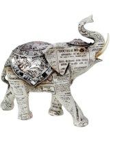 Olifant - Old paper - 18.5 cm