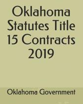 Oklahoma Statutes Title 15 Contracts 2019
