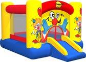 Clown Slide And Hoop Bouncer