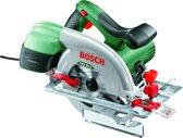 Bosch PKS 55 A Cirkelzaag - 1200 Watt - 55 mm zaagdiepte - Geleverd met in totaal 1 zaagblad