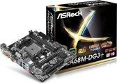 Asrock FM2A68M-HD+ moederbord Socket FM2+ AMD A68H Micro ATX