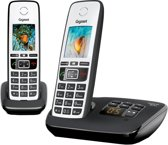 Gigaset A670A - Duo DECT telefoon - Antwoordapparaat - Zilver/Zwart