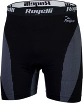 Rogelli Seamless Boxer - Boxershort - Unisex - Maat 2XL - Zwart -