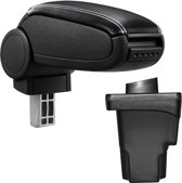 Armsteun-Seat Leon III-5F-2012-kunstleer-zwart+wit stiksel