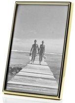 AL - Gouden Fotolijst voor foto formaat 5x8cm