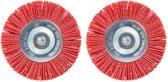 Skil borstel voor onkruidverwijderaar - Nylon borstel - 2 stuks - Voor Skil model 0700