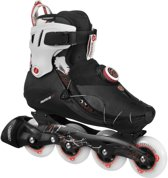 12b86fbea59 Vi 80 Inline Skate Heren Inlineskates - Mannen - zwart/wit/rood