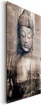 Boeddha  - Schilderij 60 x 90 cm
