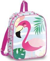 Flamingo Look Like Flamingos - Mini peuter/kleuter rugzak - 29 cm - Multi