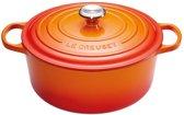 Le Creuset Signature Braadpan - 6,7 l - 28 cm - Oranje