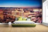 Nachtverlichting Las Vegas Fotobehang 380x265