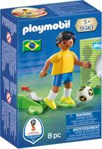 PLAYMOBIL Nationale Voetbalspeler Brazilië - 9510