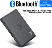 Bluetooth Transmitter TV & Bluetooth Receiver Auto en alle andere apparaten | Audio AUX USB High Sound Definition | Bluetooth 4.2