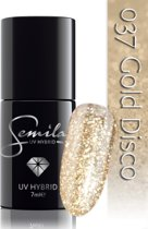 037 UV Hybrid Semilac Gold Disco 7 ml.