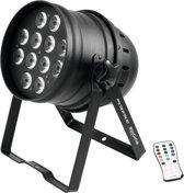 EUROLITE LED PAR-64 HCL 12x10W vloer zwart - LED Par