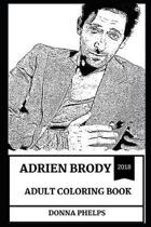 Adrien Brody Adult Coloring Book