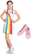 K3 jurkje regenboog + schoentjes - 3-5 jaar / mt 24